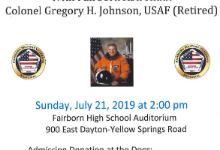 Fairborn Graduate and Astronaut to speak at benefit for Fairborn Veteran's Memorial
