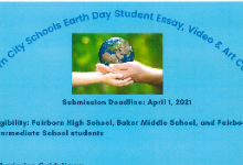 Earth Day Contest logo