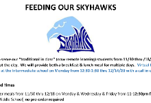 Feeding Our Skyhawks