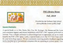 FHS Fall Library News
