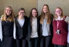FHS Biomedical students soar at HOSA competition