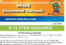 WPAFB Educational Outreach Newsletter