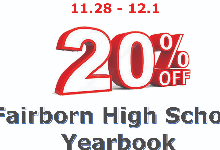 Black Friday FHS Yearbook sale!