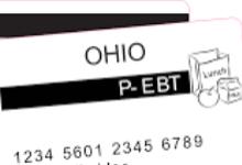 Ohio P-EBT information