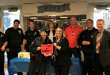 FHS National Honor Society and Student Council honor local first responders