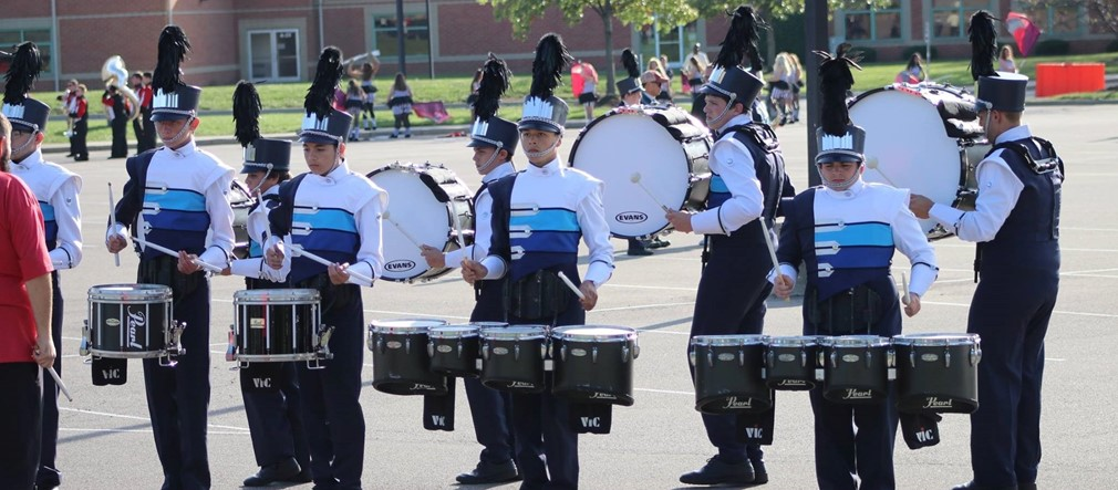 Fairborn Marching Band and Color Guard
