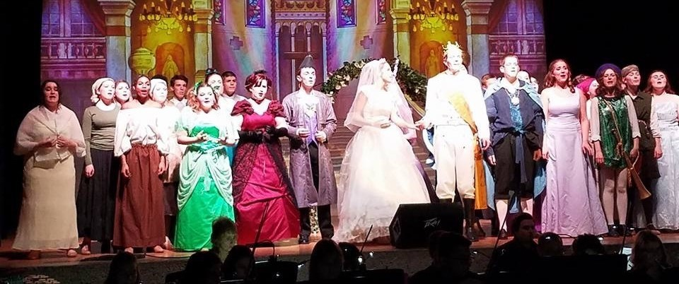 Cinderella presented at Fairborn High School