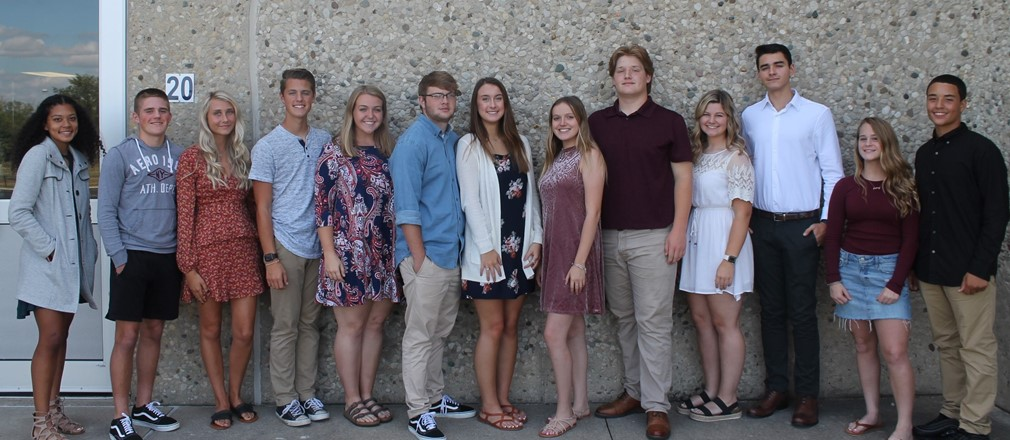 2019 FHS Homecoming Court