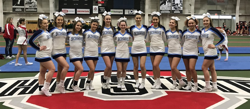 FHS Comp Cheer takes 6th Place in Division II in State Cheer Championships