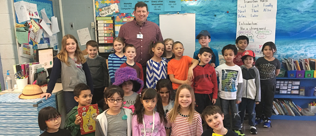 Read Across America Week at Fairborn Primary School