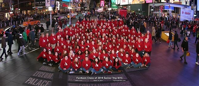 FHS Class of 2019 in NYC