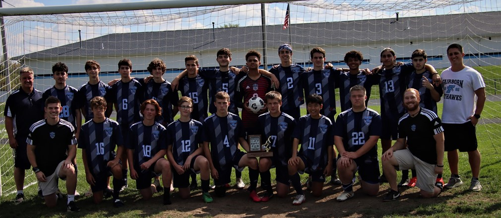 Congratulations to the FHS boy's  soccer team-Miami Valley League Division Champions