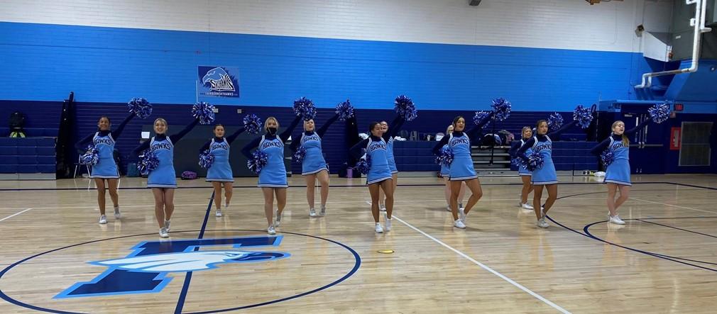 Fairborn High School Varsity Football Cheerleaders
