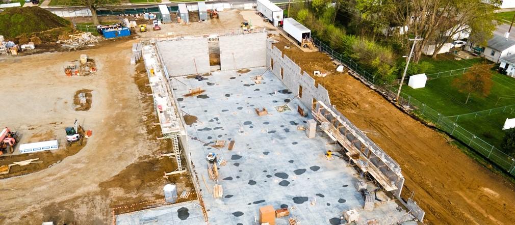 FIS Construction site photo April 11th