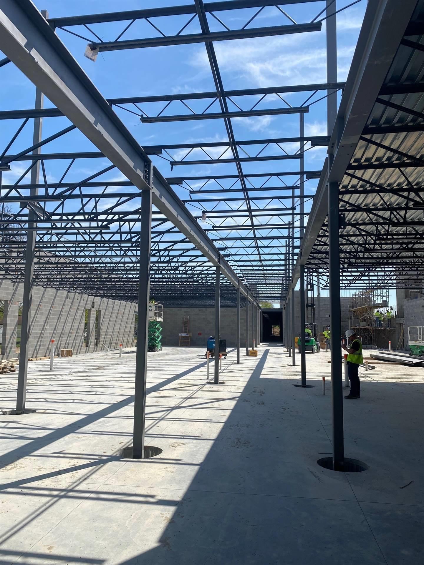 April 27th Area A Fairborn Intermediate School construction site