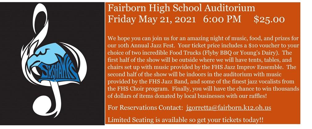 FHS Jazz Fest 2021 Information