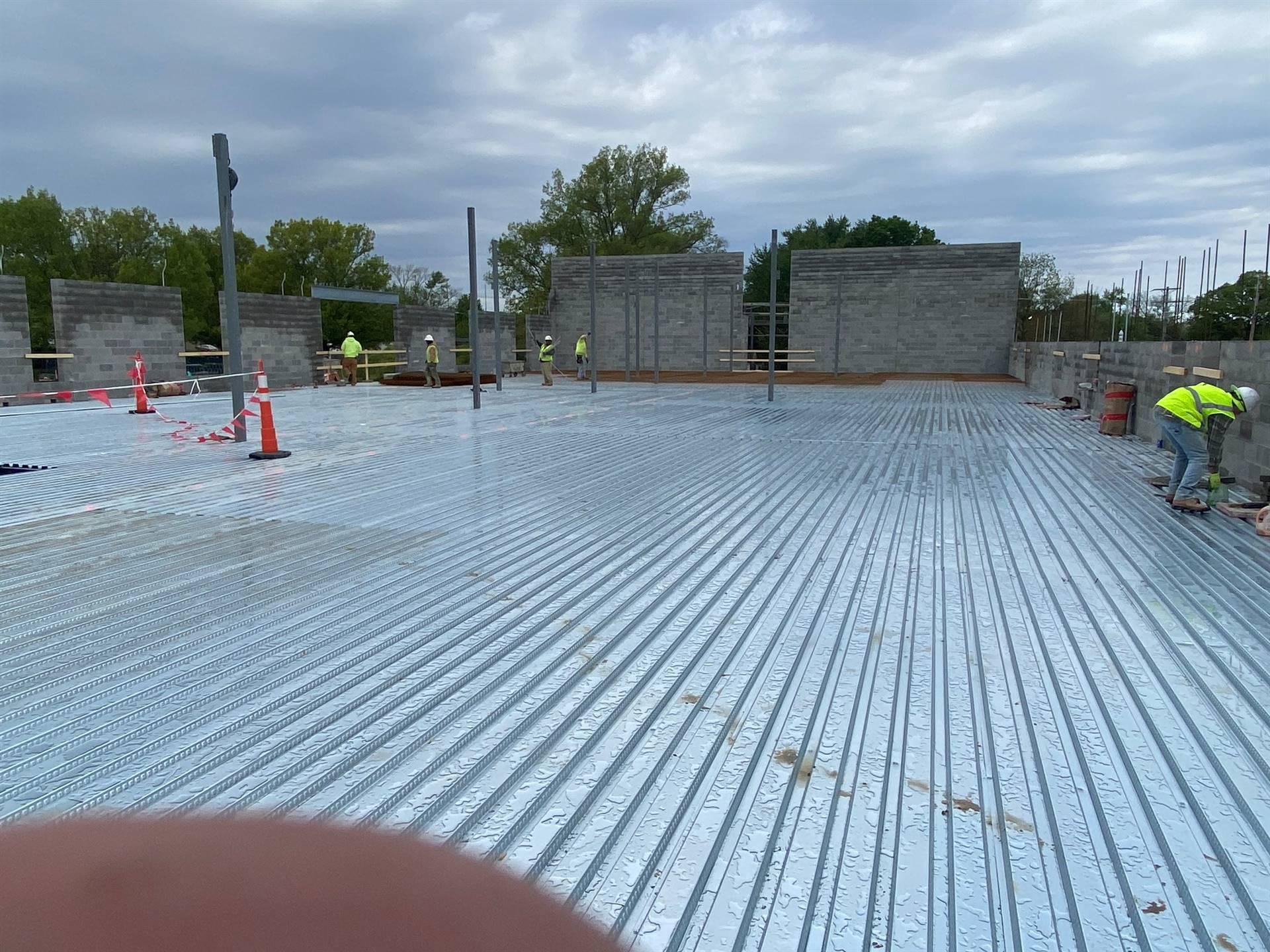 Area A update May 12, 2021 Fairborn Intermediate construction site