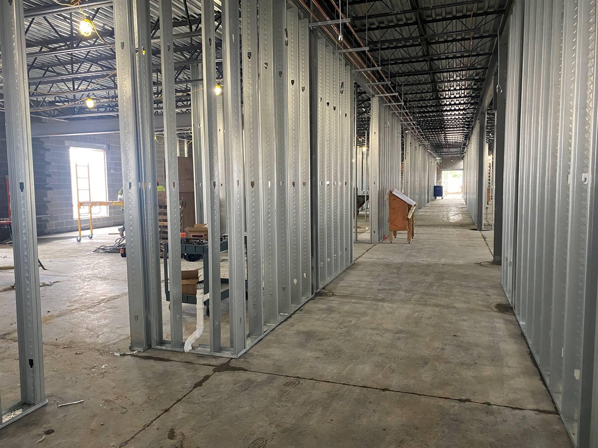 Area B One-May 12, 2021 Fairborn Intermediate construction site