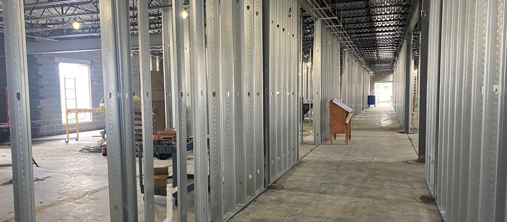 Area B-1 Fairborn Intermediate construction site May 12, 2021