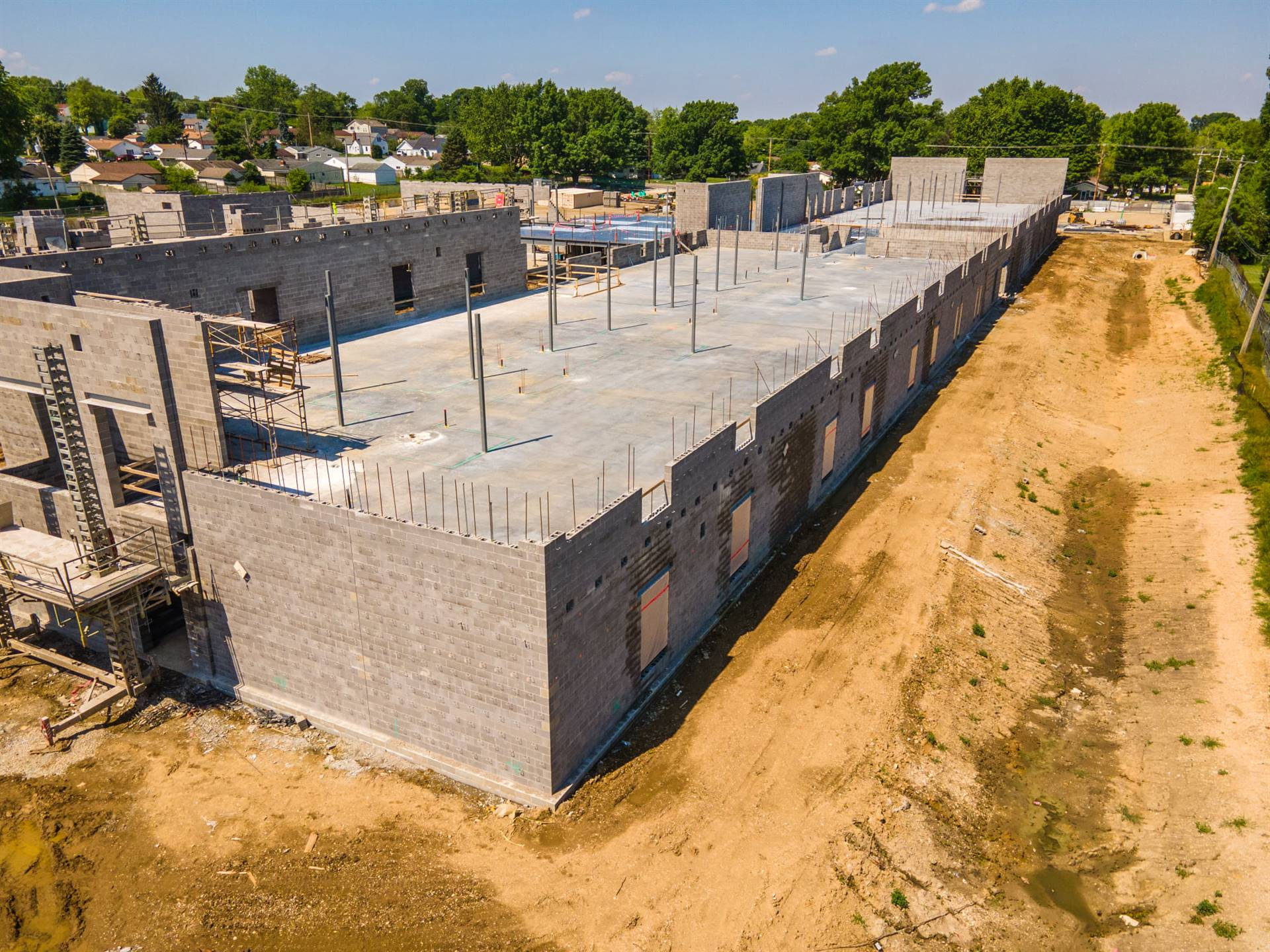 Overview FIS construction site from Busy Bee Aerial Productions LLC June 5, 2021