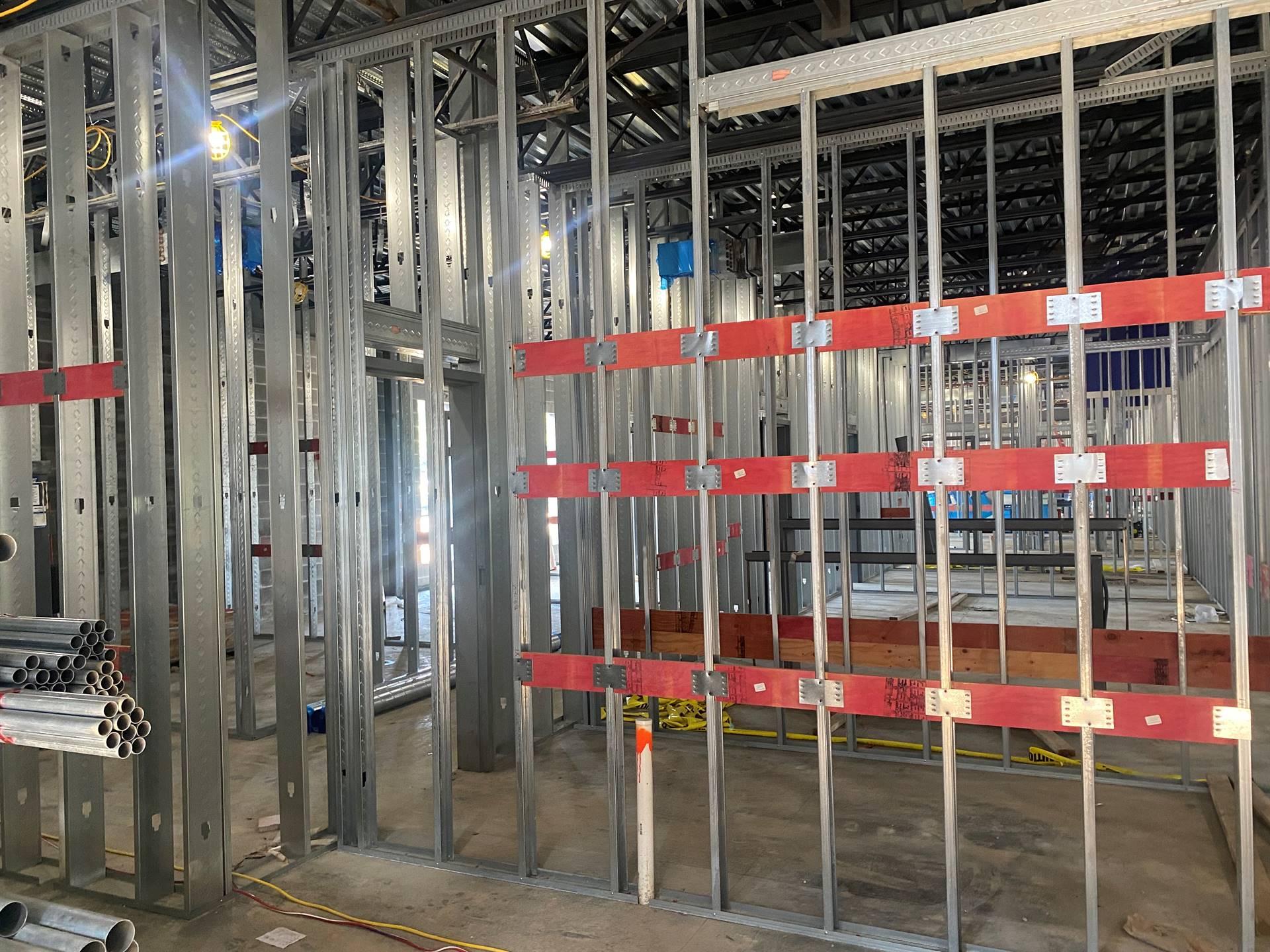 Fairborn Intermediate construction site July 7, 2021