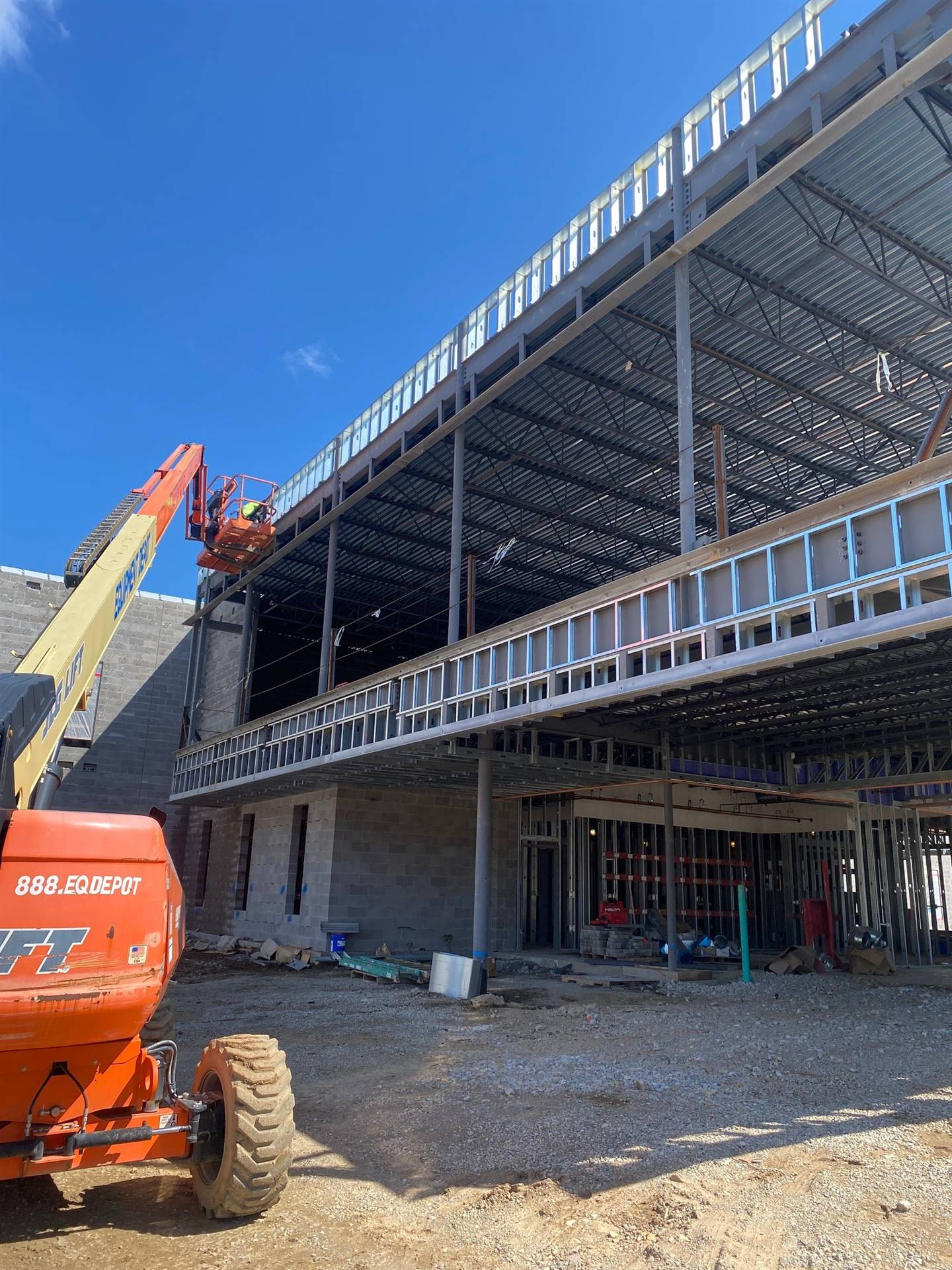 September 2, 2021 Fairborn Intermediate Main Entrance