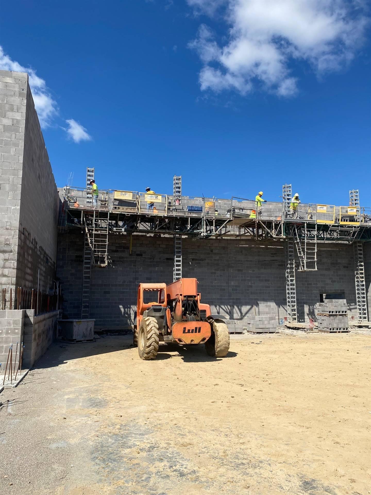 September 2, 2021 Fairborn Intermediate North Gym Wall