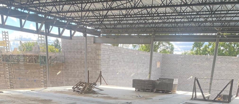 Area A 2 Fairborn Intermediate Construction site September 9, 2021
